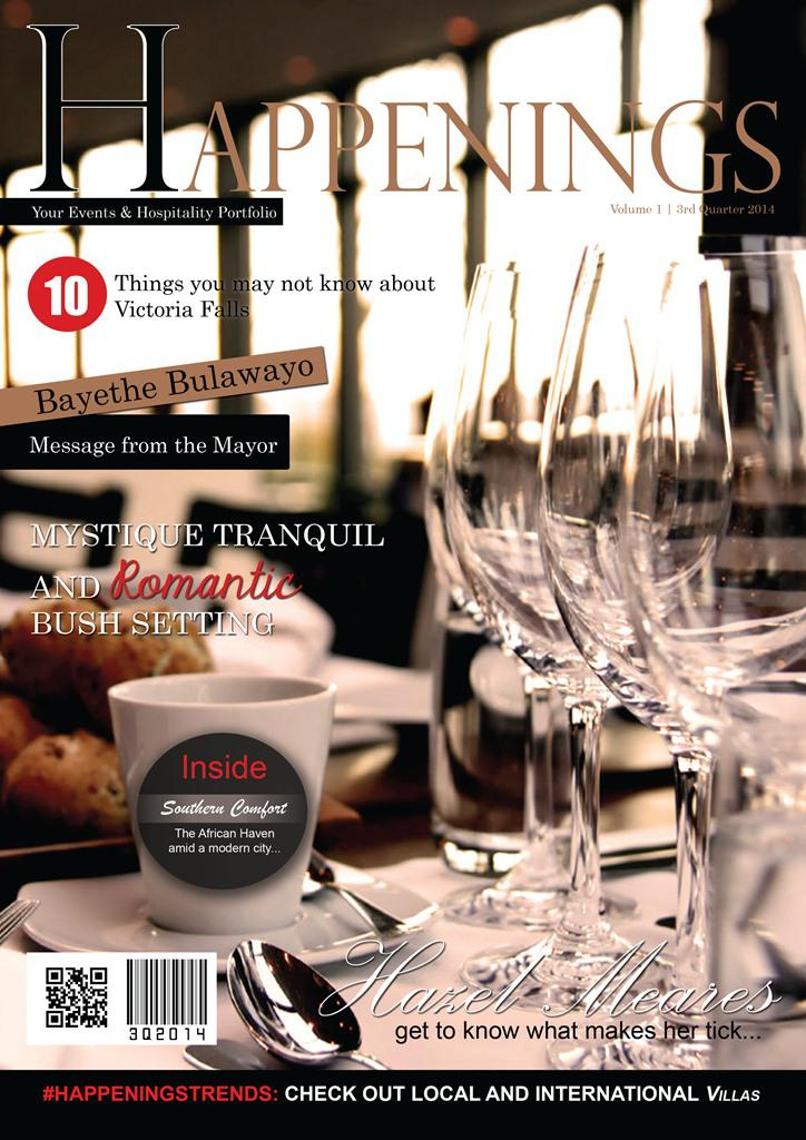 Happenings Magazine - Your Events & Hospitality Portfolio Volume 1